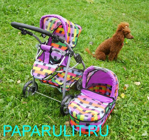 Кукольная коляска Мелобо 9662