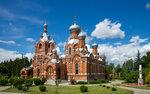 Крестовоздвиженская церковь в Дарне Истринский район Московской области