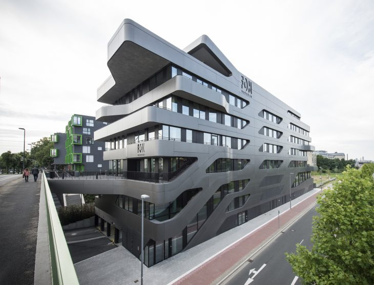 FOM Hochschule Building in Dusseldorf by J. Mayer H. Architects