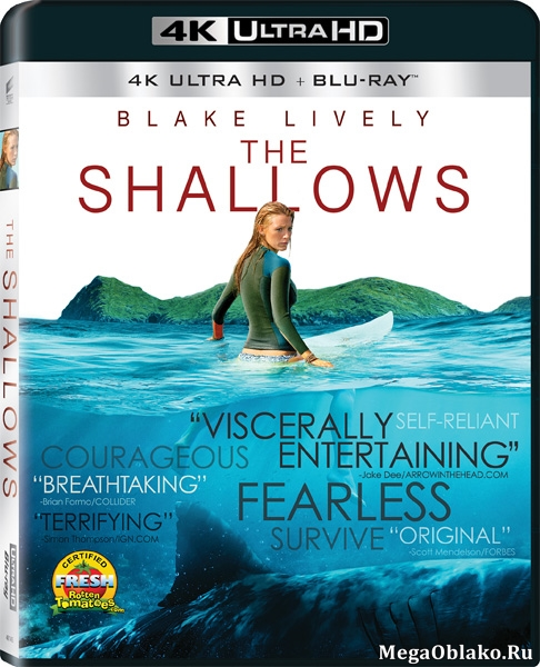 Отмель / The Shallows (2016) | UltraHD 4K 2160p