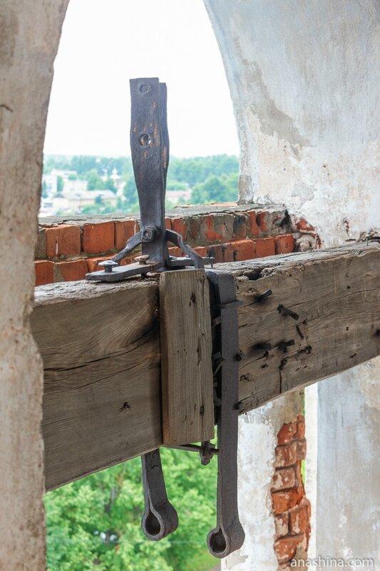 Хомут колокола, Новоторжский Борисоглебский монастырь, Торжок