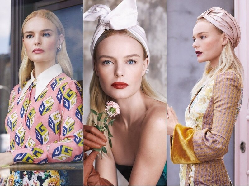 Kate Bosworth For Harper's Bazaar Taiwan October 2017