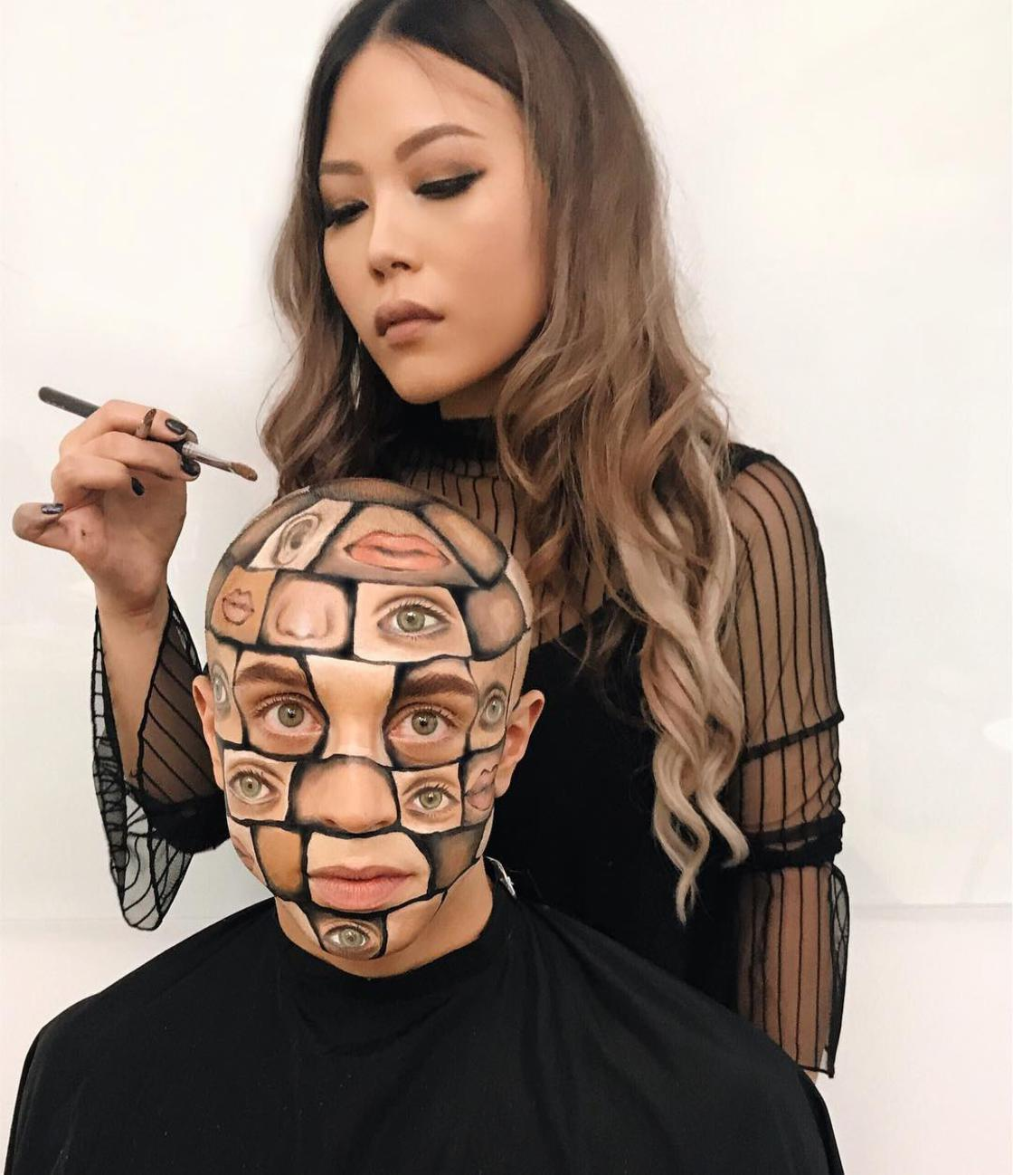 The surreal make-up of Mimi Choi, a teacher who became a talented make-up artist