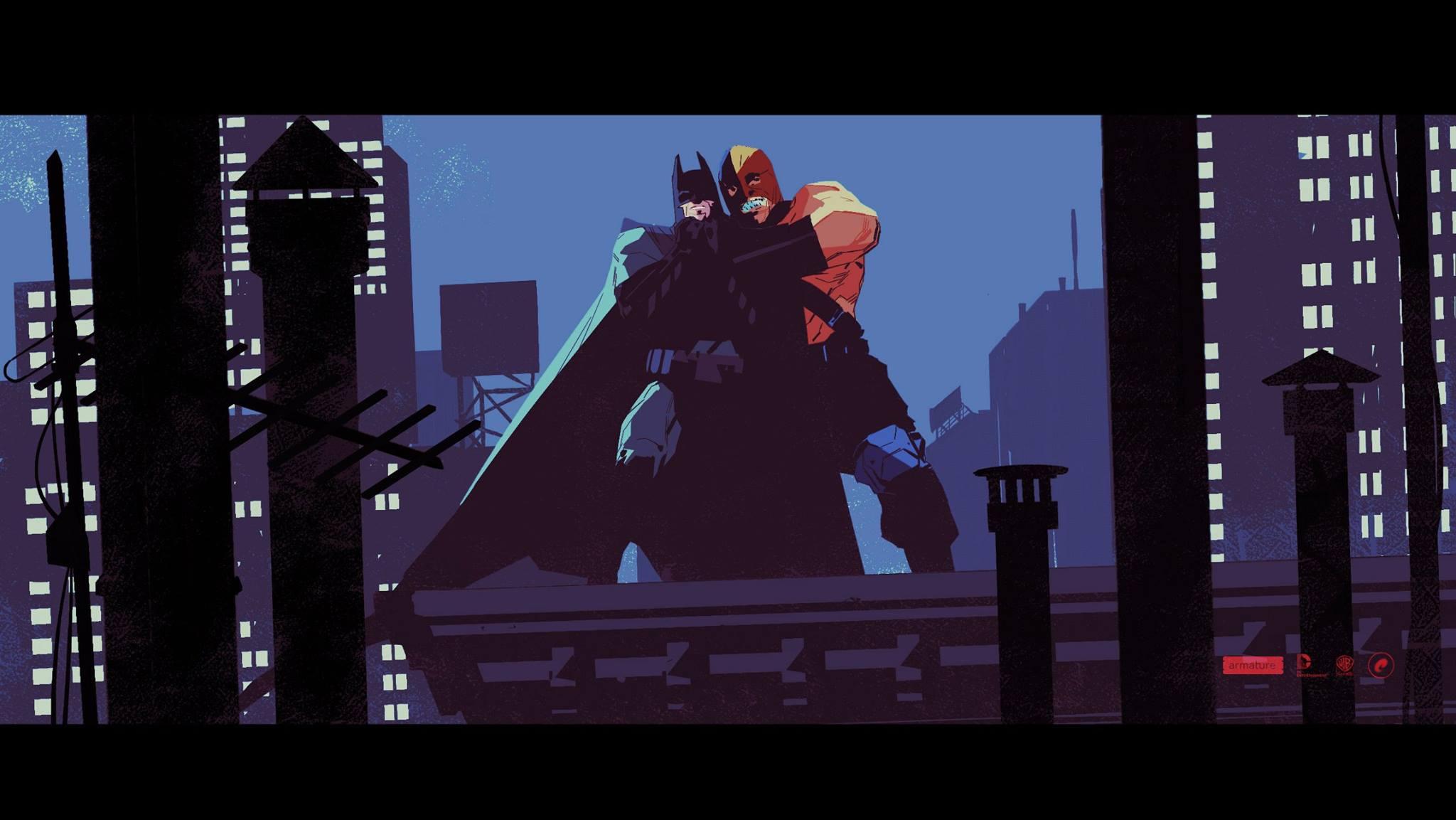 Unused Batman: Arkham Origins Blackgate Sequel Cinematics by Calum Alexander Watt (7 pics)