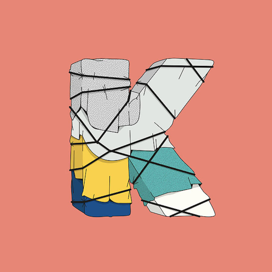 Colorful and Innovative Typography Project