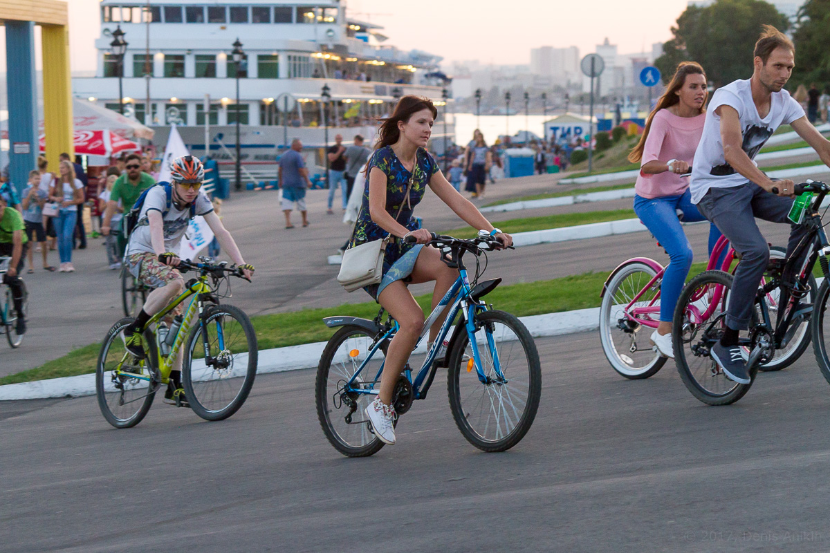 велопарад Леди на велосипеде фото 21