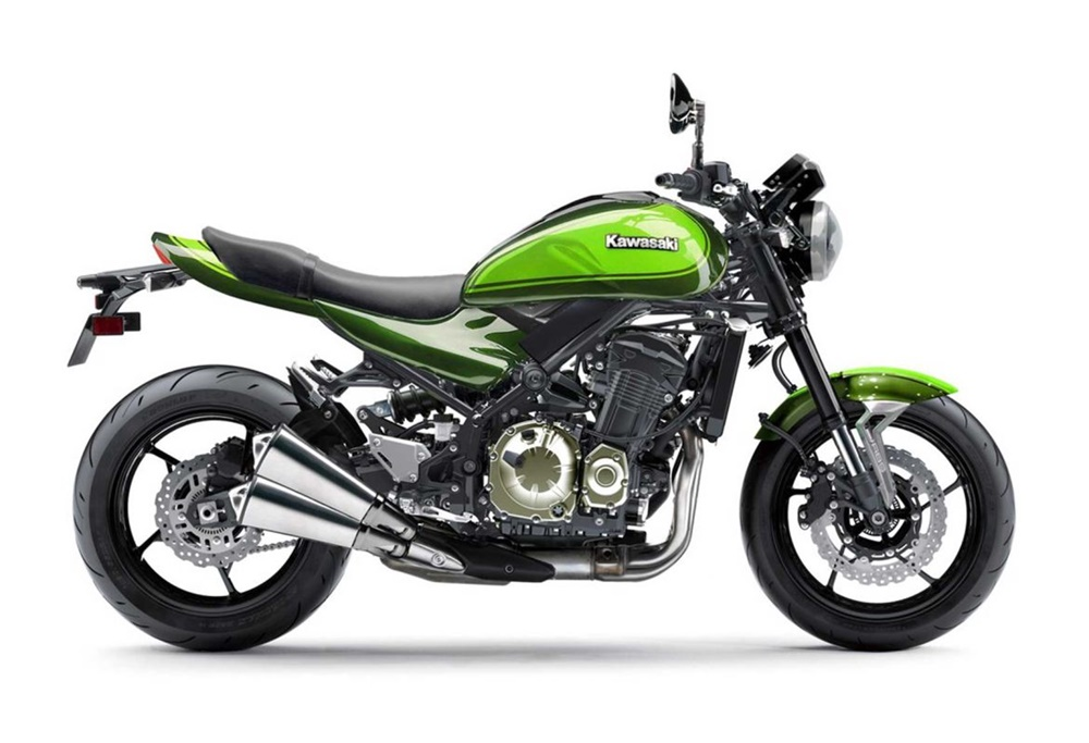 Второй тизер Kawasaki Z900RS 2018 (видео)