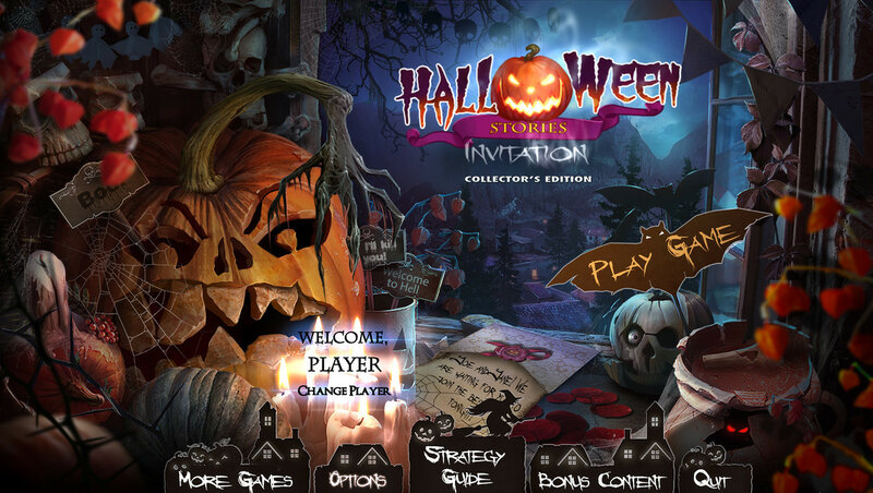 Halloween Stories: Invitation CE