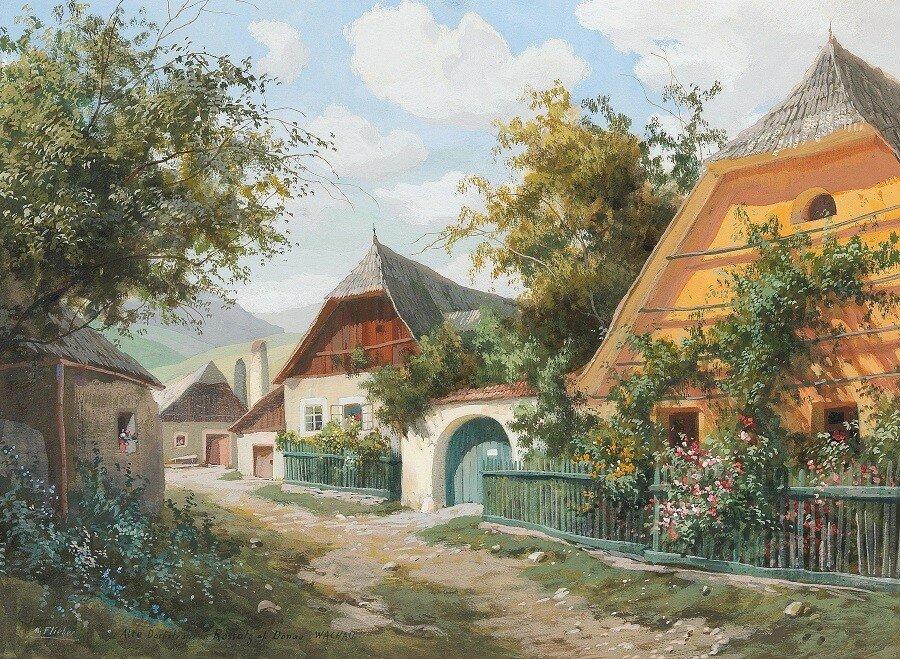 Old village road in Rossatz Wachau.Jpeg