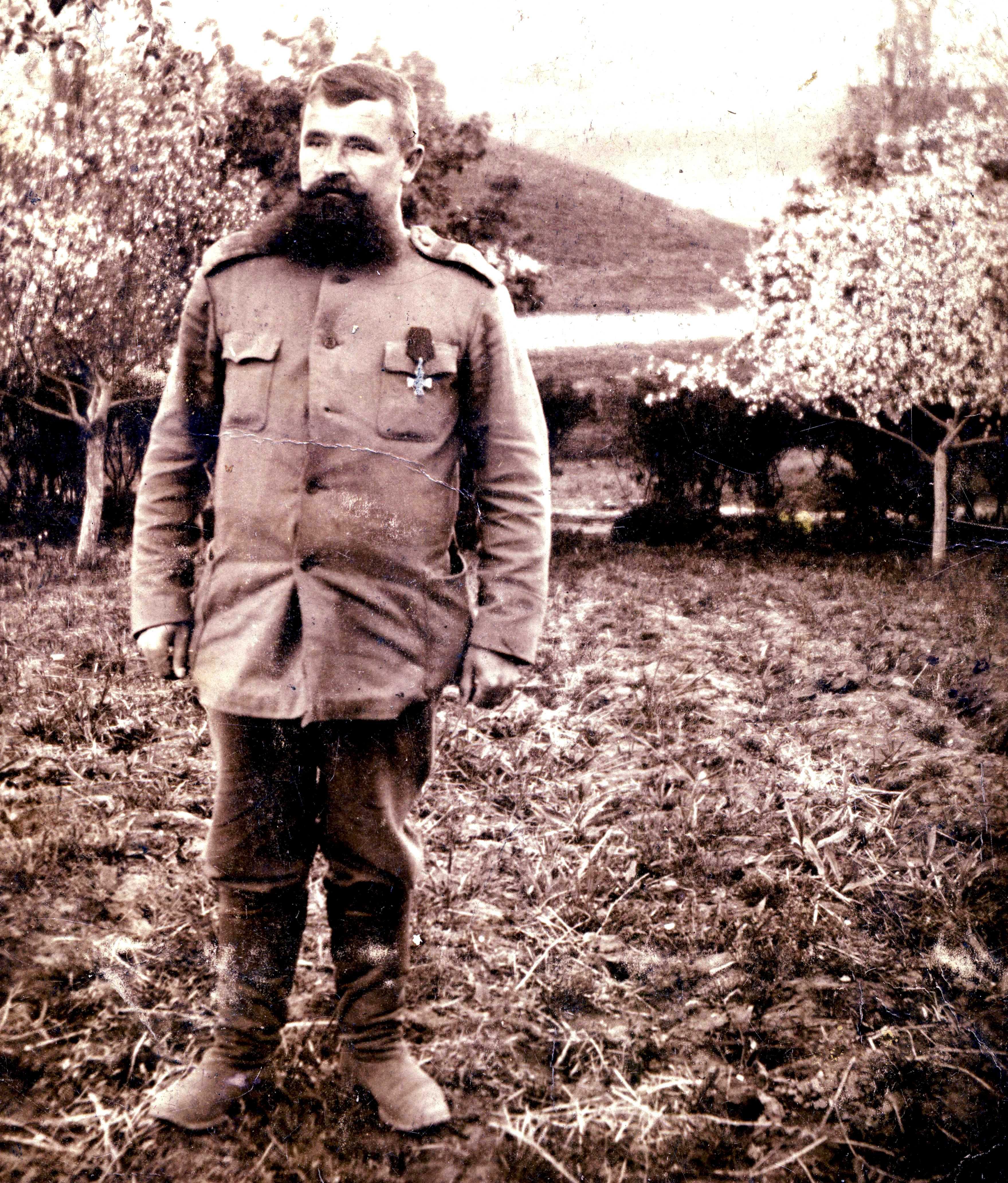 На побывке. 1915