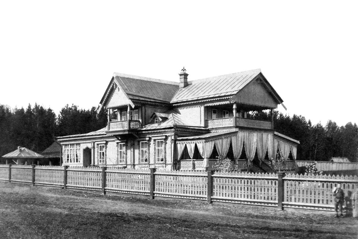 Окрестности Перми. Дача купца Ремянникова в Нижней Курье, 1910-е