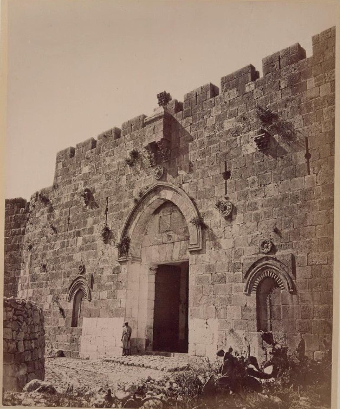 31. Иерусалим. «Ворота пророка Давида» (Сионские ворота)