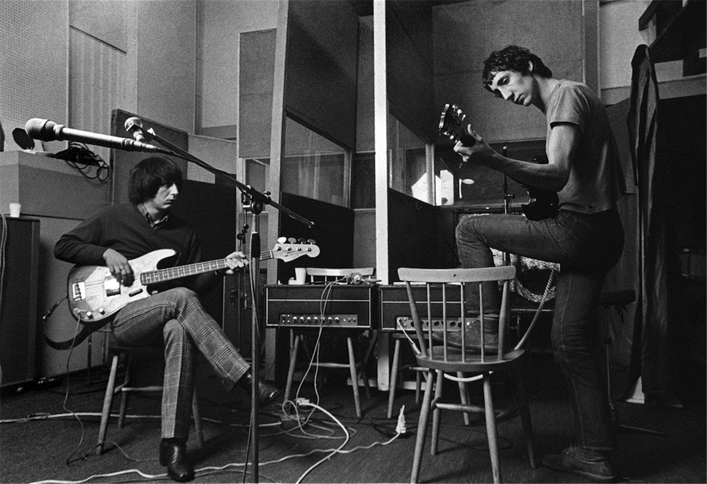 1968. Джон Энтвисл и Пит Таунсенд. Лондон
