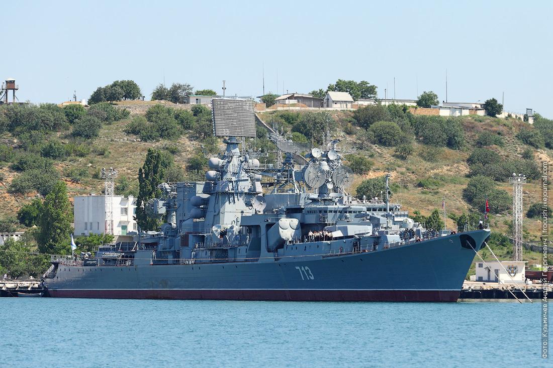 Большой противолодочный корабль Керчь