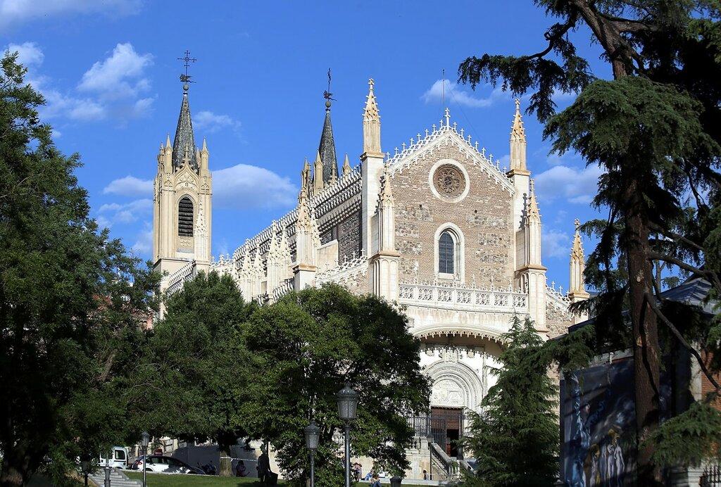 Мадрид. Церковь Сан-Херонимо