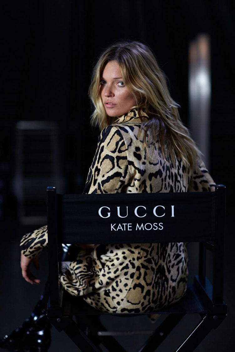 Кейт Мосс (Kate Moss) для Gucci (3 фото)