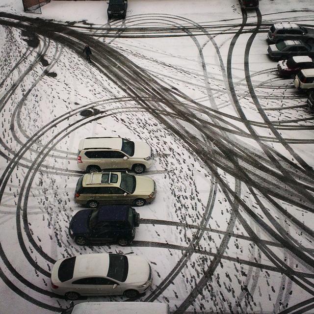 Зимний креатив