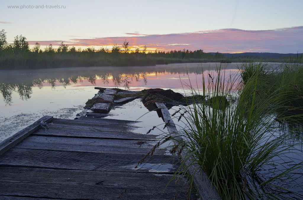 5. Закат с перисто-кучевыми облаками. Снято на Nikon D5100 KIT 18-55 VR. Фото - ХДР из трех снимков.