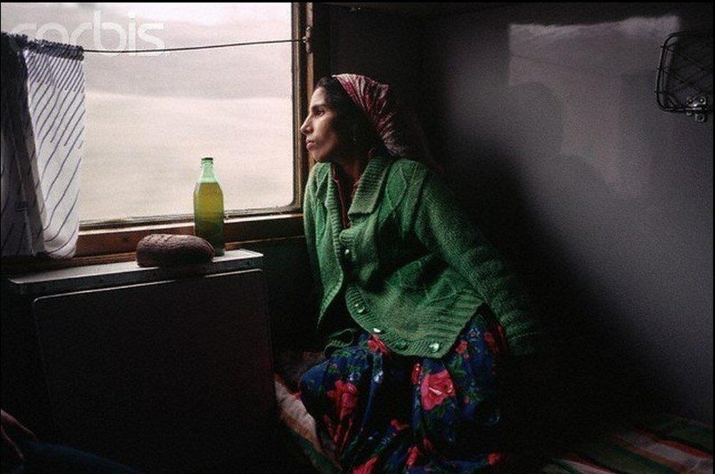1989. В поезде