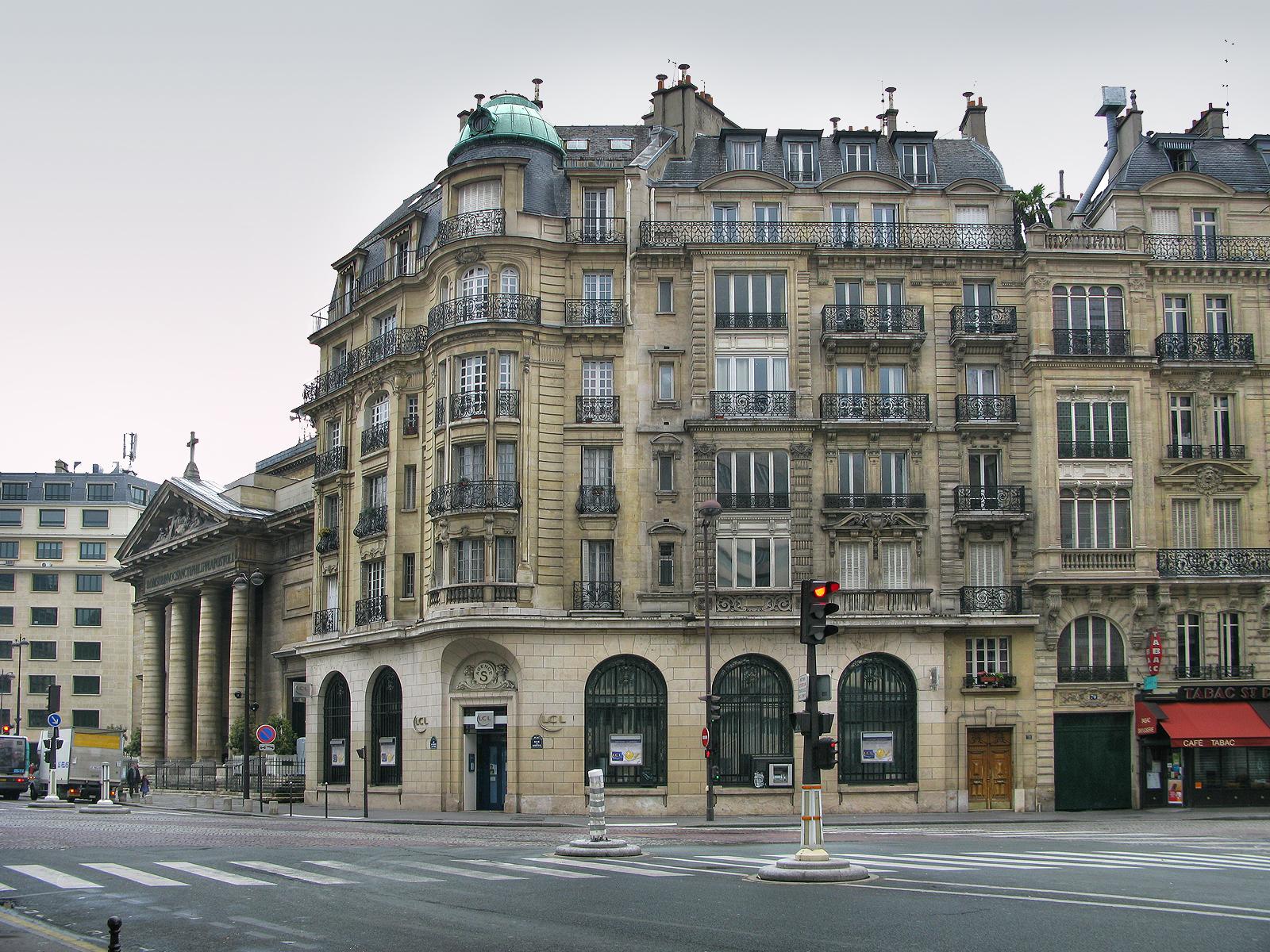 Ажурные балкончики Парижа