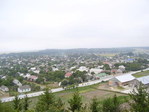 Вид с почаевской горы