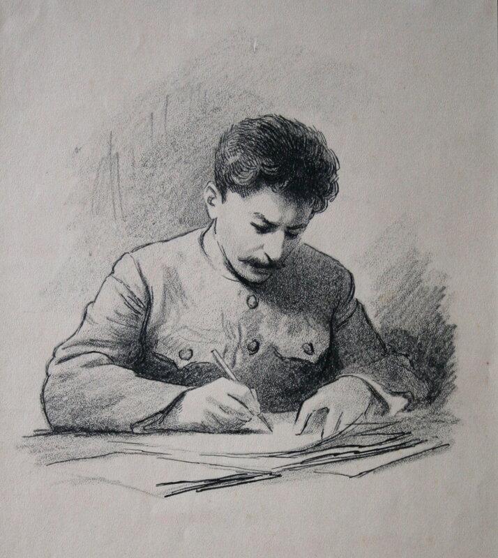 Картинки по запросу рисунок И. В. Сталин