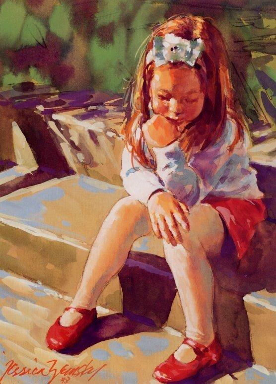 чувства и эмоции в картинах известных художников этом должна