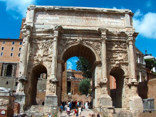 Рим. Арка Септимия Севера