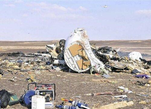 Первые фото с места крушения российского авиалайнера