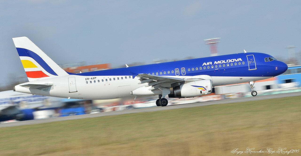 ER-AXP Airbus A320-233 Air Moldova