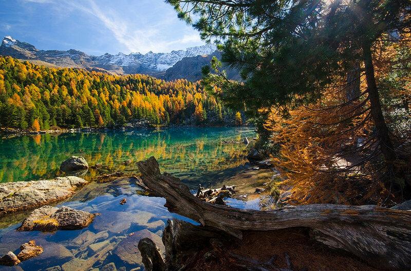 Осенние озера: 30 фотографий 0 145c66 d55d7164 XL