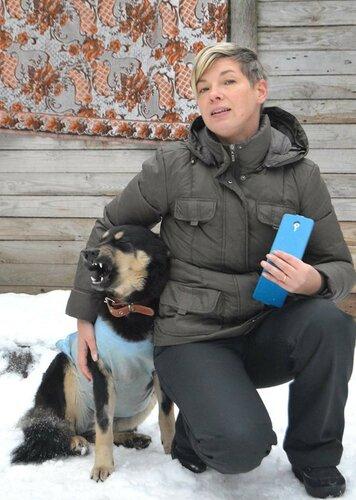 Тина собака из приюта догпорт фото