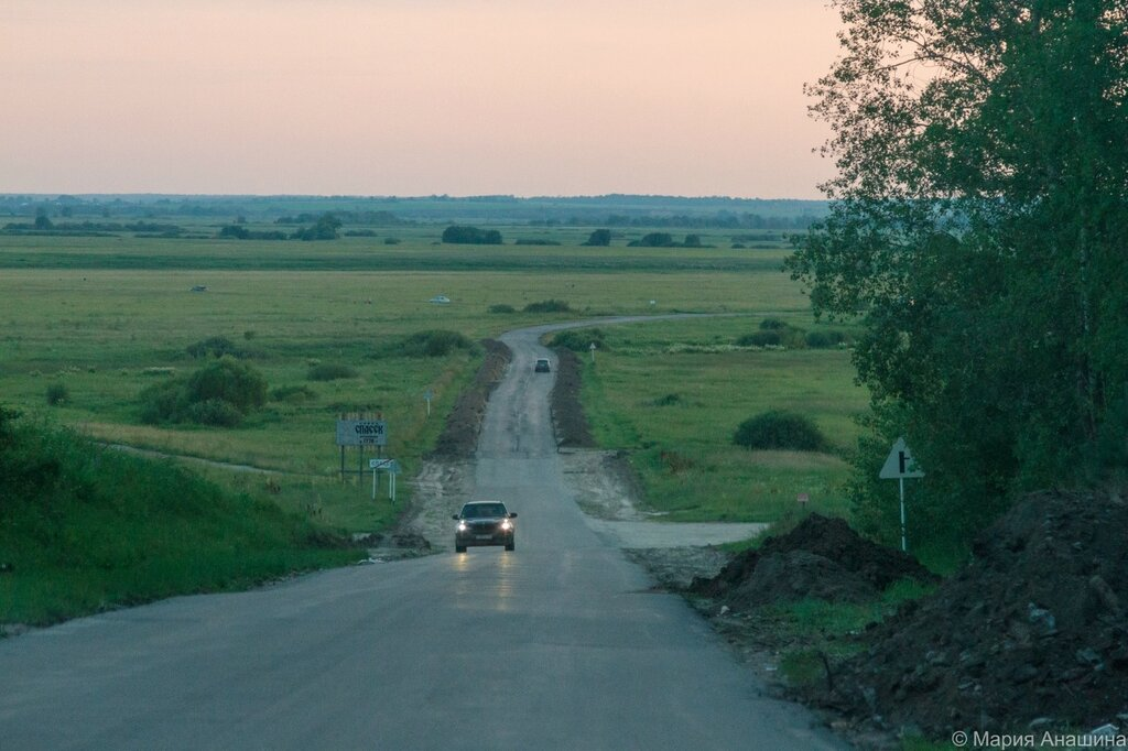 На выезде из Спасск-Рязанского