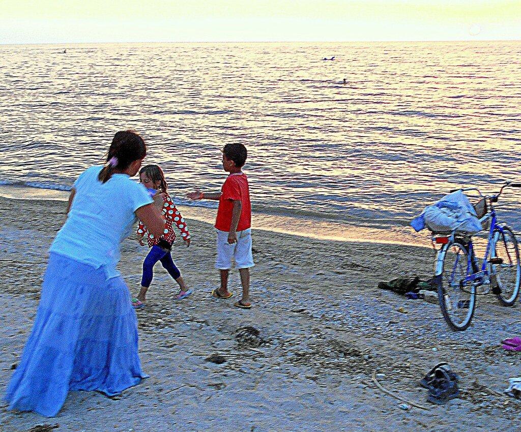 Мгновенья жизни, на вечернем берегу ... DSCN0087 - 2.JPG