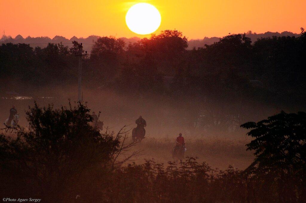 Однажды ранним осенним утром...