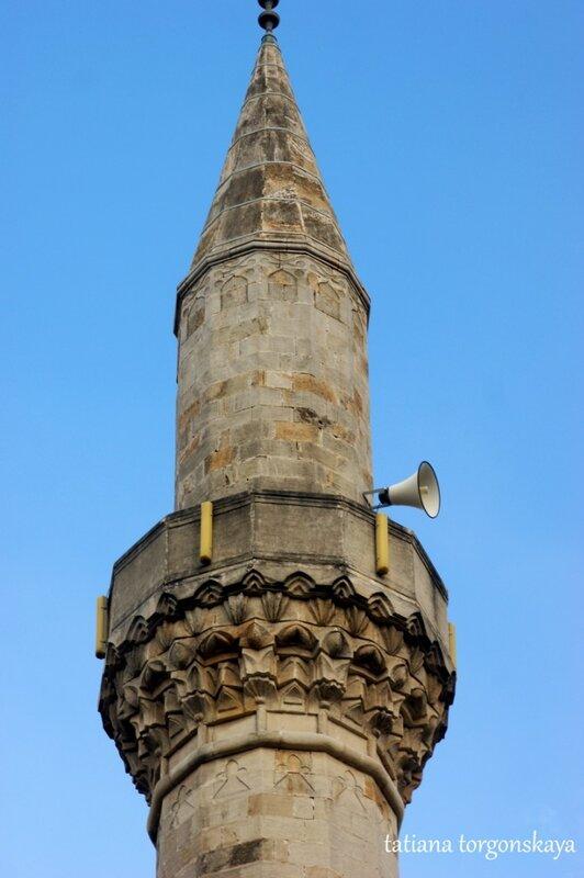 Минарет мечети Незир-аги