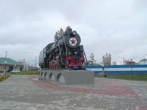 Паровоз в Мариинске