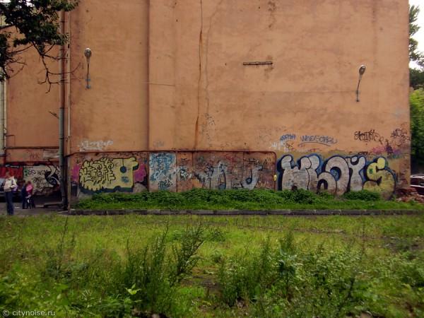 Черняховского, 15, граффити