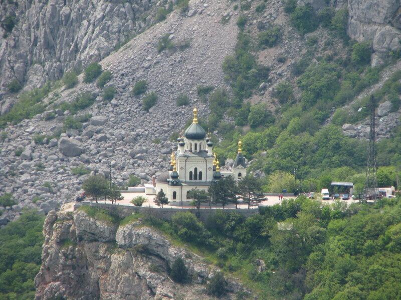 храм Воскресения Христова Форос