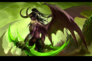 Illidan Stormrage by sandara