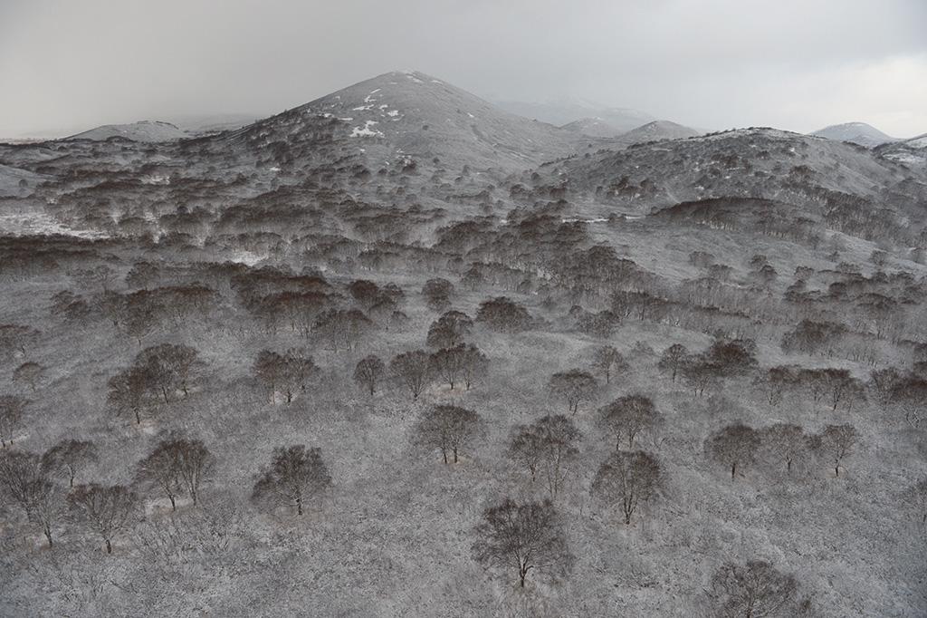 Зимняя Камчатка с вертолета