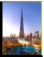 ОАЭ. Дубаи. Башня Бурж Калифа