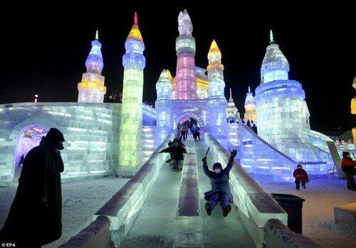 Ледовый фестиваль в Харбине