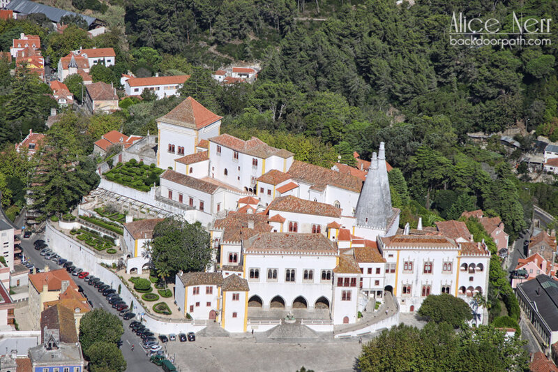 дворец Синтра, national sintra palace