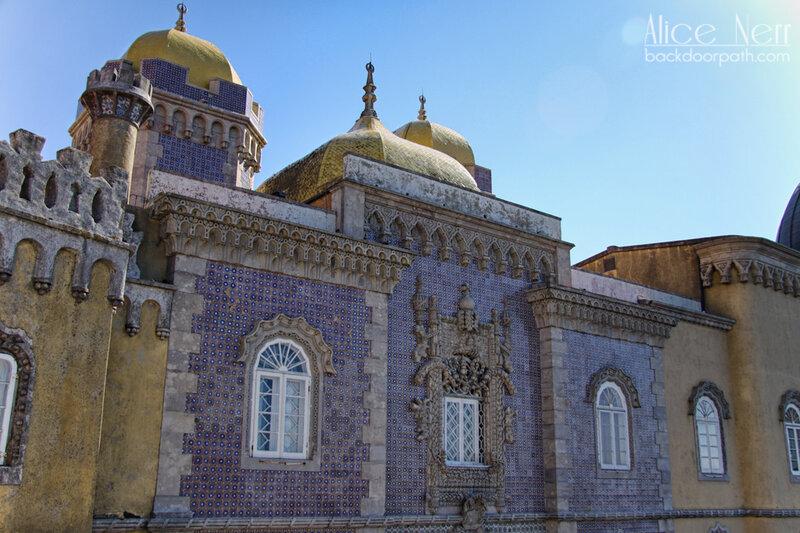 pena palace, sintra, восточные мотивы дворца Пена