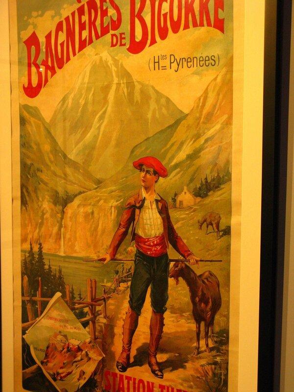 Реклама курорта Баньер-де-Бигорр