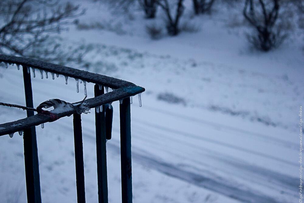Донбасс, с первым снежищем тебя:)))