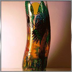 Бутылка декоративная интерьерная