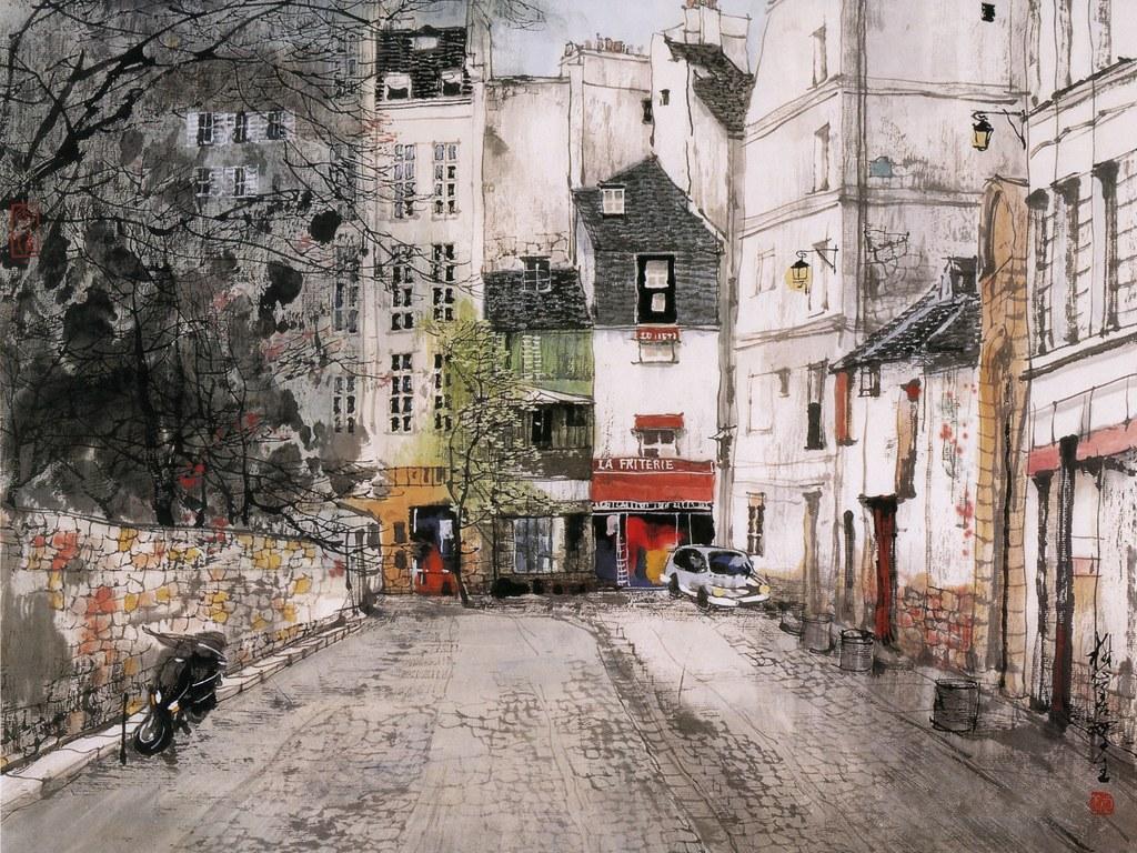 Живопись Liu Maoshan
