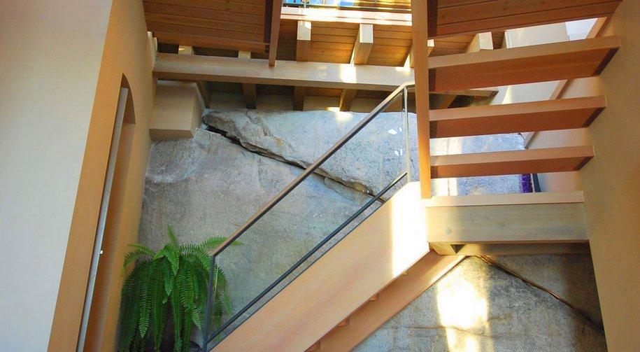Захватывающий вид из окон частного дома в Западном Ванкувере